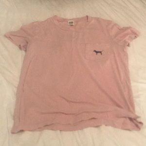 Baby Pink Women's Pink Nation oversized Tee Shirt